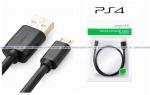 Кабель Micro USB для зарядки джойстика (PS4) (Dualshock 4) (Ugreen) (Original)