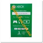 Карта подписки Xbox live Gold на 1 Месяц EUR+USA+RUS